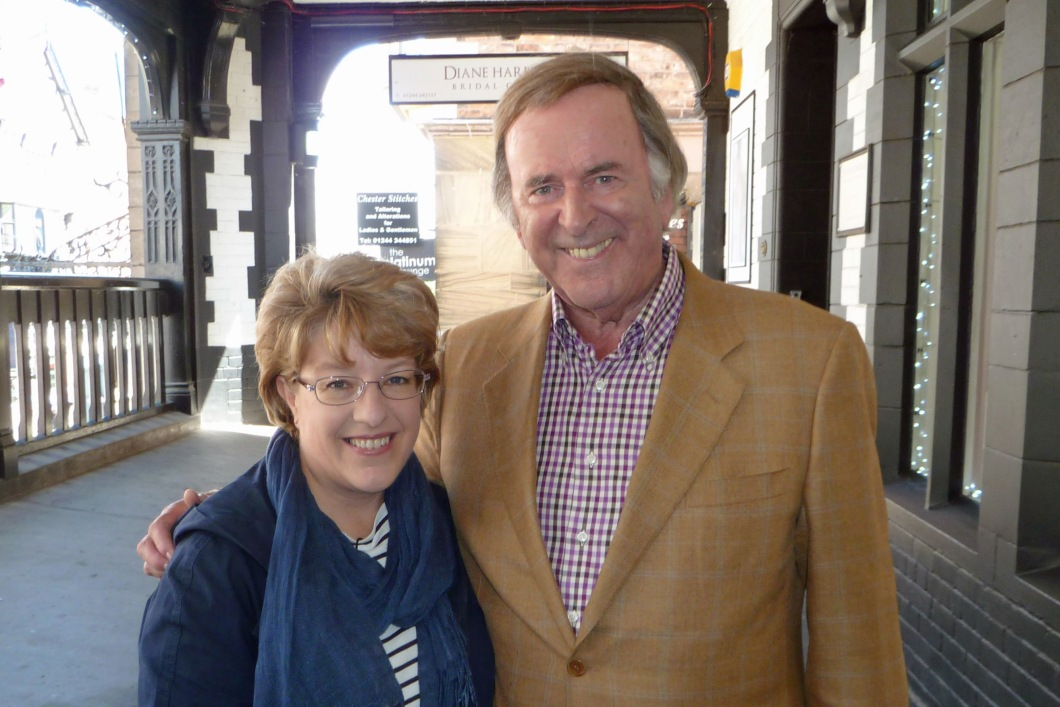 WithTerry Wogan in the Rows again