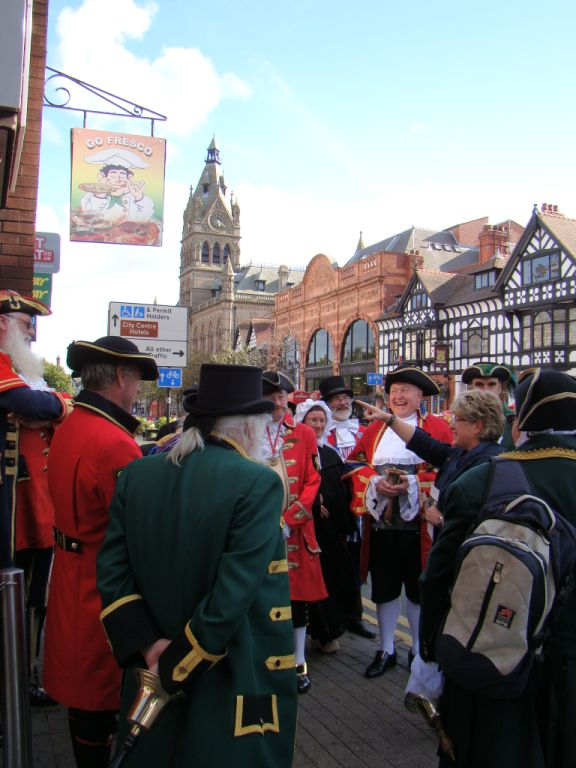 World Town Criers on Tour in Chester