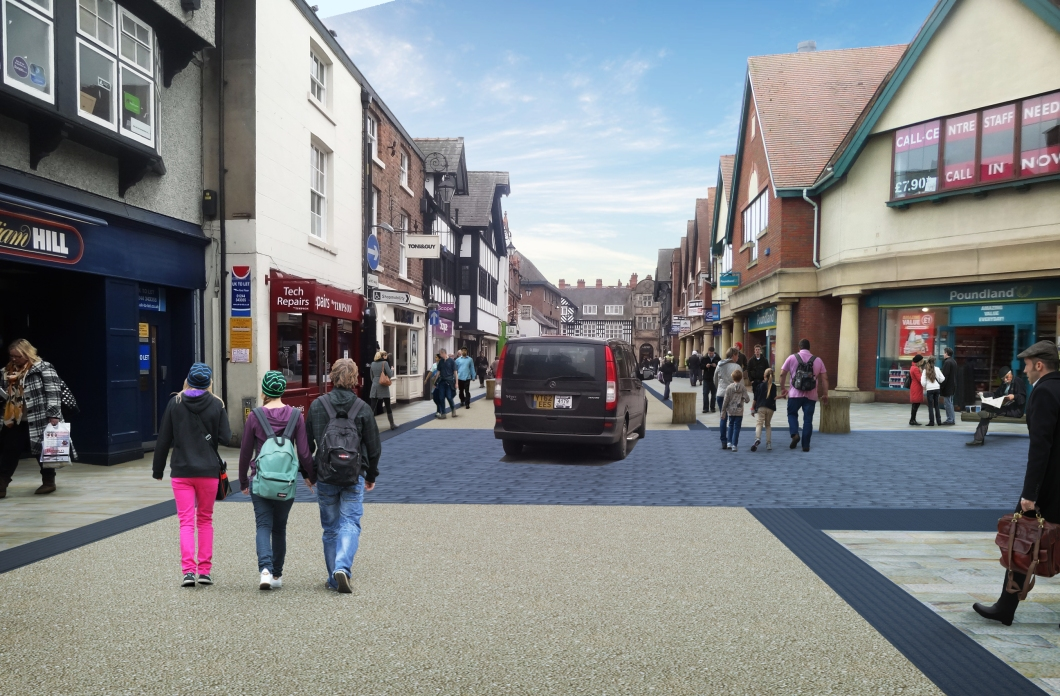 Frodsham Street works - artists impression 2