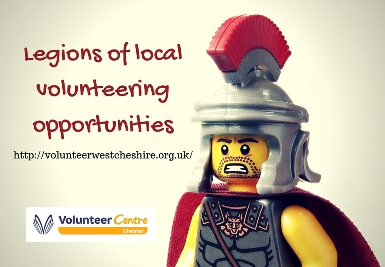 Legions of local volunteering opportunities