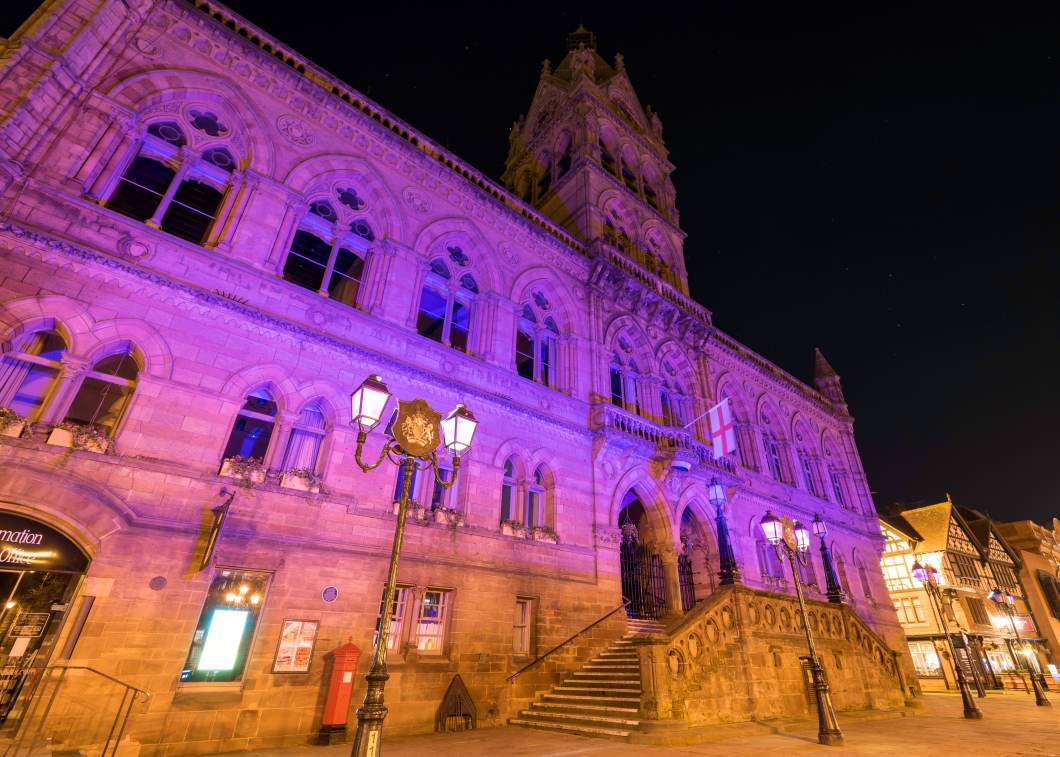 6. Purple Flag - Chester Town Hall